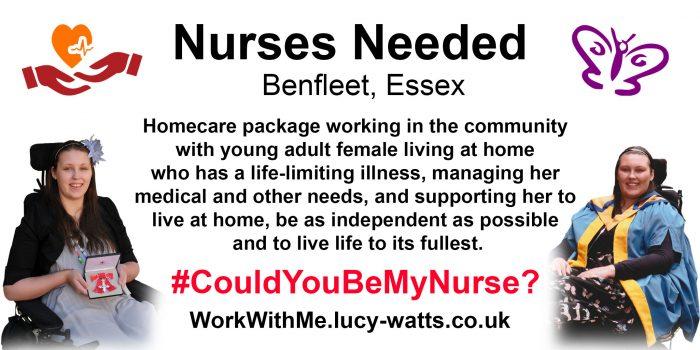 Nurses Needed – #CouldYouBeMyNurse?